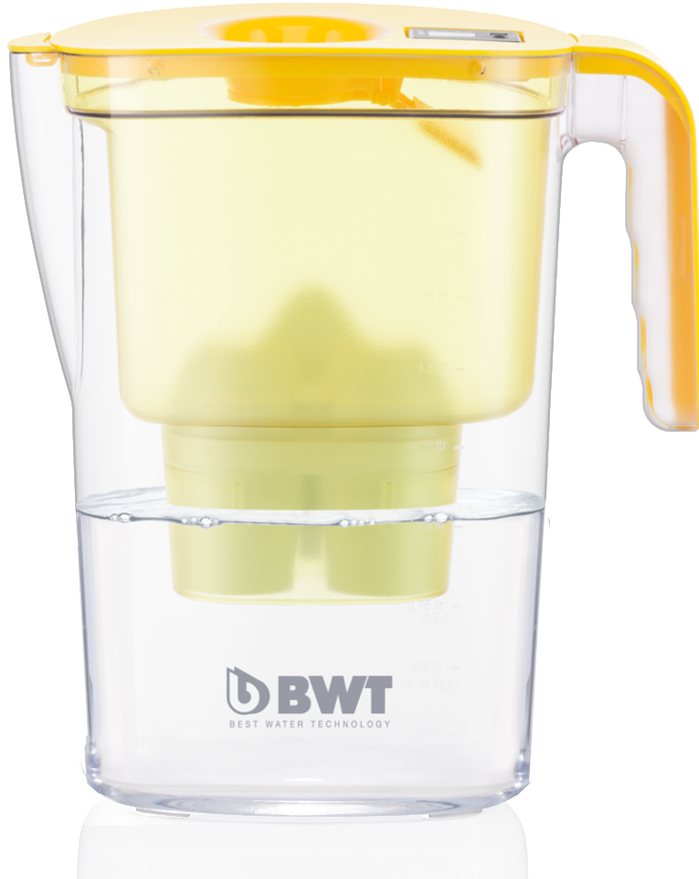 Water table filter Jug with modern look and the perfect performance. Available in 4 funky colours.