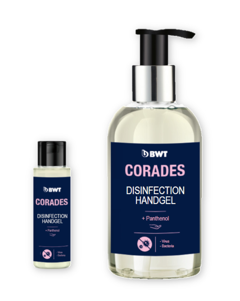 BWT Corades sanitizer gel